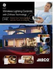Wireless Lighting Controls - Jasco Products