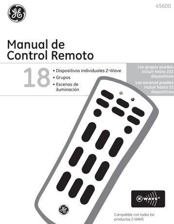 Manual de Control Remoto - Jasco Products