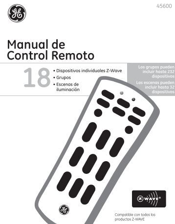 Manual de Control Remoto - Jasco Products