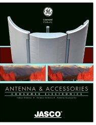 ANTENNA & ACCESSORIES - Jasco Products