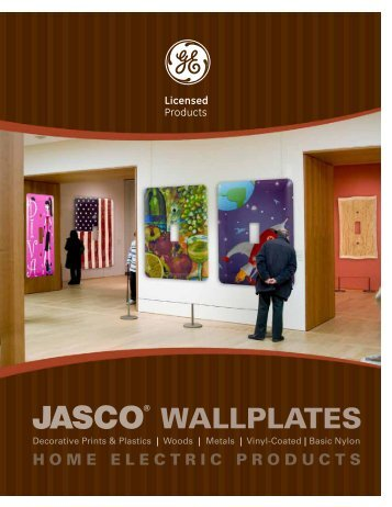 WALLPLATES - Jasco Products