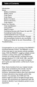 Universal Remote Instruction Manual - Jasco Products - Page 2