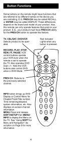 Universal Remote Instruction Manual - Jasco Products - Page 4