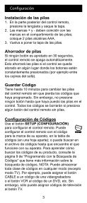 Control Remoto Universal - Jasco Products - Page 3