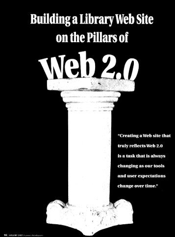 Building a Library Web Site on the Piilars of - Jason Morrison