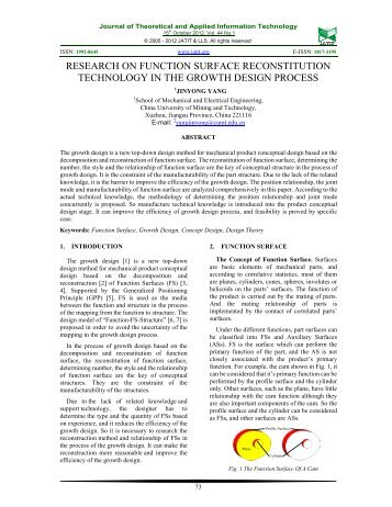 Journal of Theoretical and Applied Information Technology