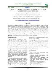 target coverage management protocol for wireless sensor network
