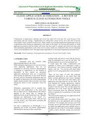 Full Text - Journal of Theoretical and Applied Information Technology