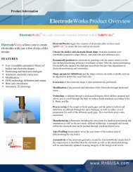 Electrode Works Product Overview - Javelin Technologies
