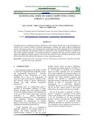 scheduling jobs on grid computing using firefly algorithm - Journal of ...