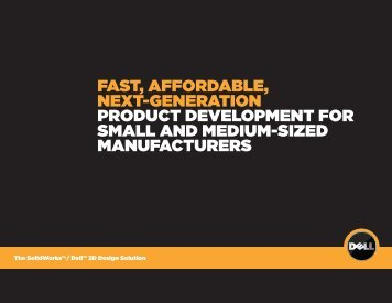 fast, affordable, next-generation product development for small