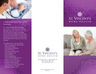 COMPREHENSIVE SPECIALTy SERVICES - St. Vincent's Health ...