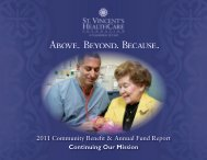 View the 2011 Community Benefit & Annual Fund Report
