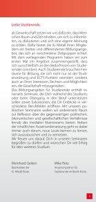 Bildungsangebot für Studierende 2014 - Seite 3