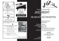 JAZZ NIGHT - Jazzclub Thalwil