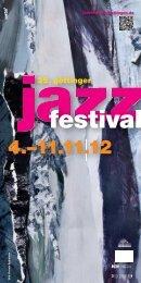 Programm-Download - Jazzfestival Göttingen