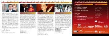 Programm-Flyer (PDF-Datei) - JAZZINITIATIVE WÜRZBURG eV