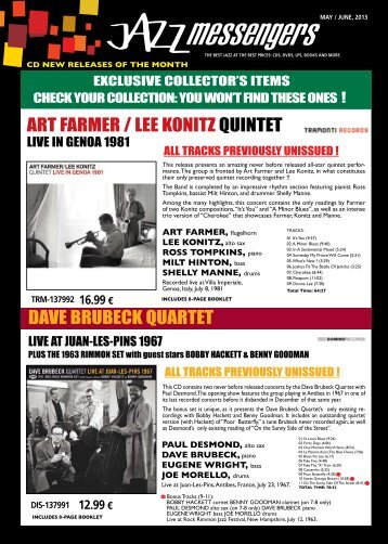 Download may june 2013 issue - Jazz Messengers