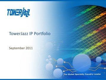 IP Portfolio - TowerJazz