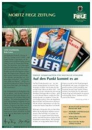 MORITZ FIEGE ZEITUNG - JournalistenBüro Herne