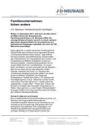 Die Pressemitteilung als pdf - JournalistenBüro Herne