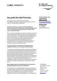 Interview mit Prof. Dr. med. Eckard Hamelmann - JournalistenBüro ...