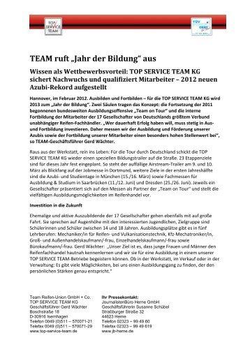 Top Service eam - JournalistenBüro Herne