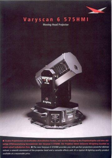 Varyscan 6 575HM| - JB-lighting Lichtanlagentechnik GmbH