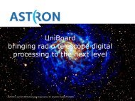 UniBoard bringing radio telescope digital processing to the next level