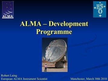 ALMA – Development Programme