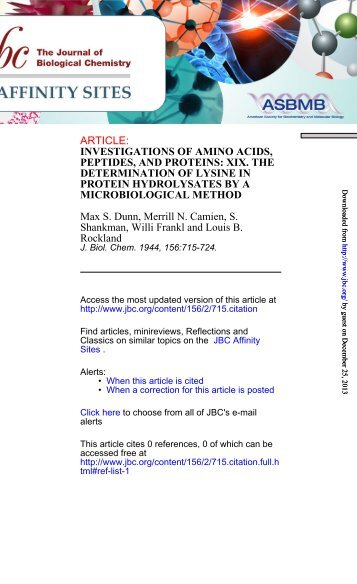 amino acids and peptides ps Abstract peptide transporters 1 and 2 (pept1 and pept2) and peptide/ histidine transporter 1 (pht1) are all members of the proton-coupled oligopeptide transporter family, which are important for the transport of amino acids in peptide form the pept1 acts as a low-affinity/high-capacity transporter and pept2 as a.