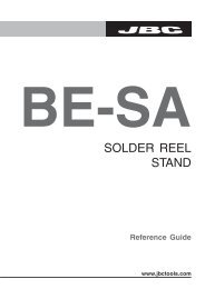 SOLDER REEL STAND - JBC