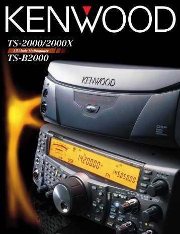 TS-2000/2000X TS-B2000
