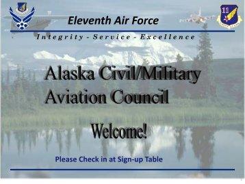 ACMAC Meeting Briefings - Apr 11 - Joint Base Elmendorf-Richardson