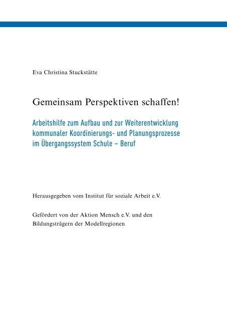 Gemeinsam Perspektiven schaffen! - Jugendberufshilfe Thüringen e.V.