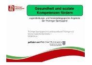 Gesundheit - Jugendberufshilfe Thüringen e.V.