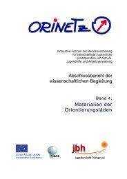 Band 4: Materialien der Orientierungsläden - Jugendberufshilfe ...