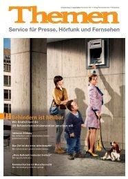 Themenheft November 2011 - Behindern ist heilbar [PDF, 5MB]