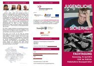 JUGENDLICHE - Jugendberufshilfe Thüringen e.V.