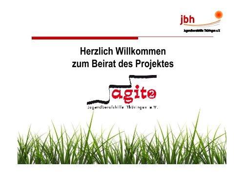 Herzlich Willkommen zum Beirat des Projektes