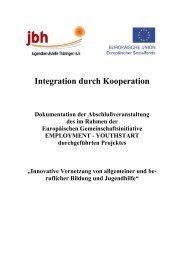 YOUTHSTART-Dokumentation - Jugendberufshilfe Thüringen e.V.