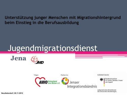 Unterstützung junger Menschen mit Migrationshintergrund beim ...