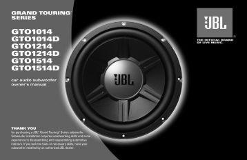 130.19KB PDF - JBL