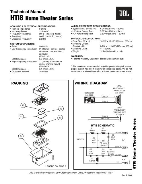 Technical Manual HTI8 Home Theater Series - JBL on home theater guide, home theater architecture, home theater star panels, home theater component, home theater information, home theater electronics, home theater symbol, home theater building plans, home theater nashville, home theater wiring layout, home theater room layout, home theater seating diagram, home theater rooms diy, home theater ceiling, home theater design layouts, home theater room size, home theater seating layout, home theater design floor plan, home theater switch,