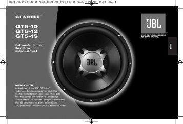 GT5-10 GT5-12 GT5-15 - JBL
