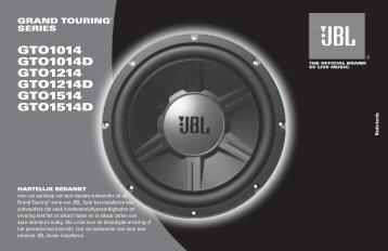 GTO1014 GTO1014D GTO1214 GTO1214D GTO1514 ... - JBL.com