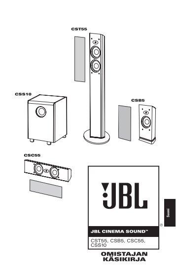 OMISTAJAN KÄSIKIRJA - JBL.com