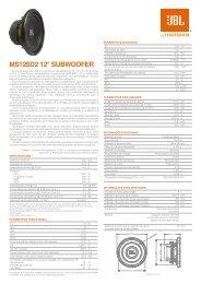 MS12SD2 - Rev. 01 - 01-11 P.cdr - JBL