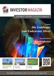 Das Investor Magazin - Ausgabe 67
