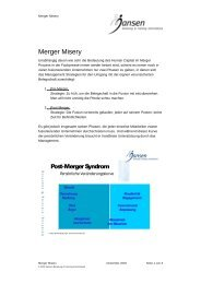 Merger Misery.pdf - Jansen Beratung & Training / Executive Coaching